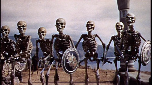 The skeletons.